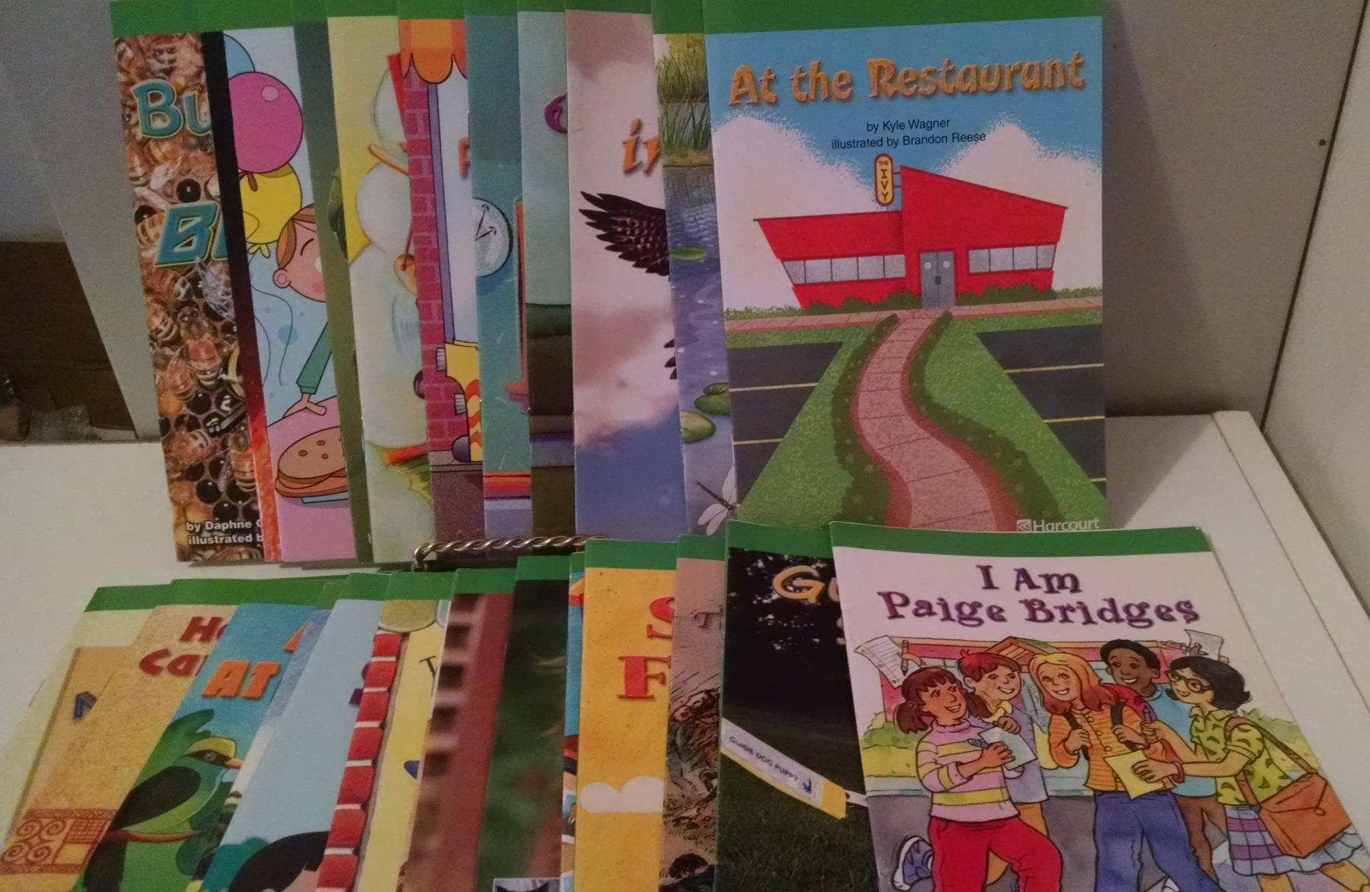 New Harcourt School Publishers Horizons Big Book Unit 2 Grade 2 Our